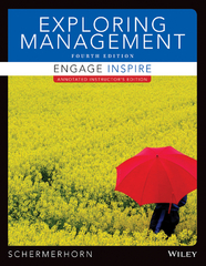 Exploring Management 4th Edition 9781118800096 1118800095