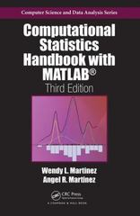 Computational Statistics Handbook with MATLAB, Third Edition 3rd Edition 9781466592735 1466592737