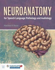 Neuroanatomy For Speech Language Pathology And Audiology 1st Edition 9781284023060 1284023060