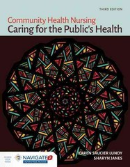 Community Health Nursing 3rd Edition 9781449691493 1449691498