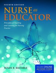 Nurse as Educator 4th Edition 9781449694180 1449694187