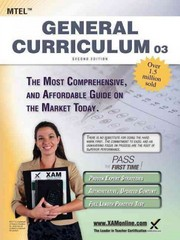 MTEL General Curriculum 03 Teacher Certification Study Guide Test Prep 2nd Edition 9781607873167 1607873168