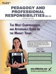 TExES Pedagogy and Professional Responsibilities EC-12 Teacher Certification Study Guide Teacher Prep 2nd Edition 9781607873334 1607873338