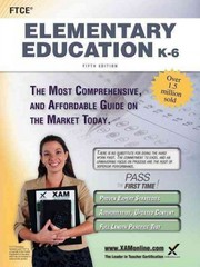FTCE Elementary Education K-6 Teacher Certification Study Guide Test Prep 5th Edition 9781607873341 1607873346