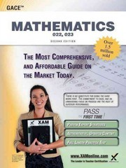 GACE Mathematics 022, 023 Teacher Certification Study Guide Test Prep 2nd Edition 9781607873525 1607873524