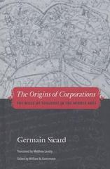 The Origins of Corporations 1st Edition 9780300156485 0300156480