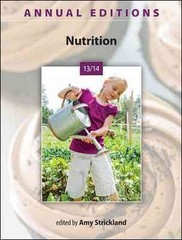 Annual Editions: Nutrition 13/14 25th Edition 9780073515632 0073515639