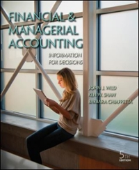 Financial and Managerial Accounting with Connect Plus 5th Edition 9780077785949 0077785940
