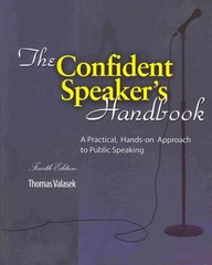 The Confident Speaker's Handbook 4th Edition 9781465211538 1465211535