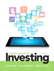 Fundamentals of Investing Plus NEW MyFinanceLab with Pearson eText --- Access Card Package 12th Edition 9780133423945 0133423948