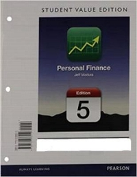 Personal Finance, Student Value Edition Plus NEW MyFinanceLab with Pearson eText --- Access Card Package 5th Edition 9780133423969 0133423964