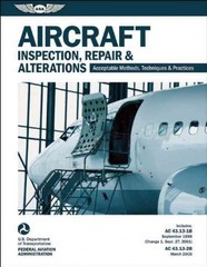 Aircraft Inspection, Repair and Alterations 1st Edition 9781619540217 1619540215