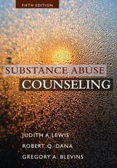 Substance Abuse Counseling 5th Edition 9781305178281 1305178289
