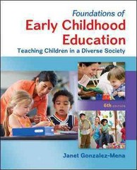 Foundations of Early Childhood Education 6th Edition 9780078024481 007802448X