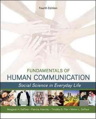 Fundamentals of Human Communication 4th Edition 9780078036897 0078036895