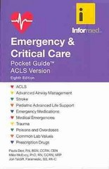 Emergency  &  Critical Care Pocket Guide 8th Edition 9781284023701 1284023702