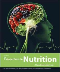 Wardlaw's Perspectives in Nutrition 1st Edition 9780073522746 0073522740