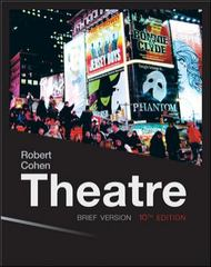 Theatre (Loose Leaf) 10th Edition 9780077494261 0077494261