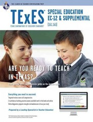 TExES Special Education EC-12 (161) 1st Edition 9780738611419 0738611417