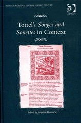 Tottel's Songes and Sonettes in Context 1st Edition 9781317009733 1317009738