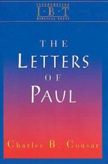 The Letters of Paul 0 9780687008520 0687008522
