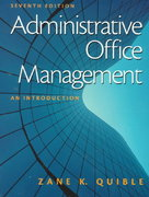 Administrative Office Management 7th edition 9780130859570 0130859575