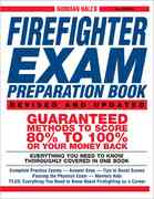 Norman Hall's Firefighter Exam Preparation Book 2nd edition 9781580629324 1580629326