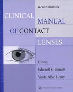 Clinical Manual of Contact Lenses 2nd edition 9780781719513 0781719518
