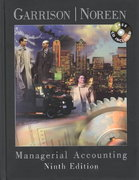 Managerial Accounting 9th edition 9780072478617 0072478616