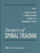 Surgery of Spinal Trauma 1st edition 9780683181081 0683181084