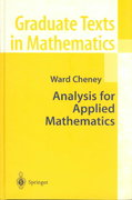 Analysis for Applied Mathematics 0 9780387952796 0387952799