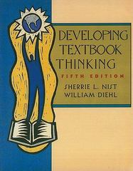 Developing Textbook Thinking 5th edition 9780618123445 061812344X