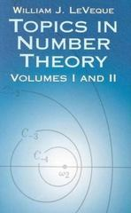 Topics in Number Theory 0 9780486425399 0486425398