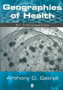 Geographies of Health 1st Edition 9780631219859 0631219854