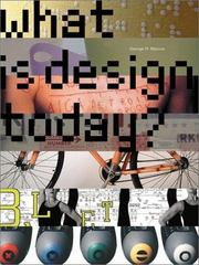 What Is Design Today? 0 9780810990814 0810990814