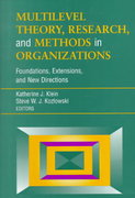 Multilevel Theory, Research, and Methods in Organizations 1st edition 9780787952280 0787952281