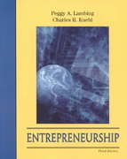 Entrepreneurship 3rd edition 9780130971166 0130971162