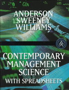 Contemporary Management Science with Spreadsheets 1st edition 9780538876094 0538876093