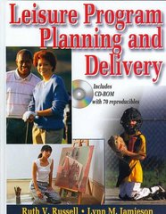 Leisure Program Planning and Delivery 0 9780736057332 0736057331