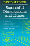 Successful Dissertations and Theses 2nd edition 9781555423896 1555423892