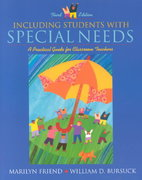 Including Students with Special Needs 3rd edition 9780205331925 0205331920