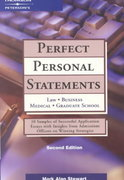 Perfect Personal Statements 2nd edition 9780768908459 0768908450