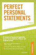 Perfect Personal Statements 3rd edition 9780768917154 0768917158