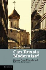 Can Russia Modernise? 1st Edition 9781107302013 1107302013