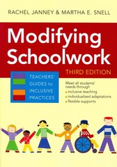 Modifying Schoolwork, Third Edition 3rd Edition 9781598573190 1598573195