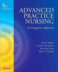 Advanced Practice Nursing 5th Edition 9781455739806 1455739804