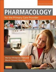 Pharmacology for the Primary Care Provider 4th Edition 9780323087902 0323087906