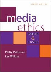 Media Ethics 8th Edition 9780073526249 007352624X
