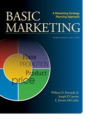 Basic Marketing 19th Edition 9780078028984 0078028981