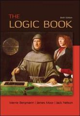 The Logic Book 6th Edition 9780078038419 0078038413